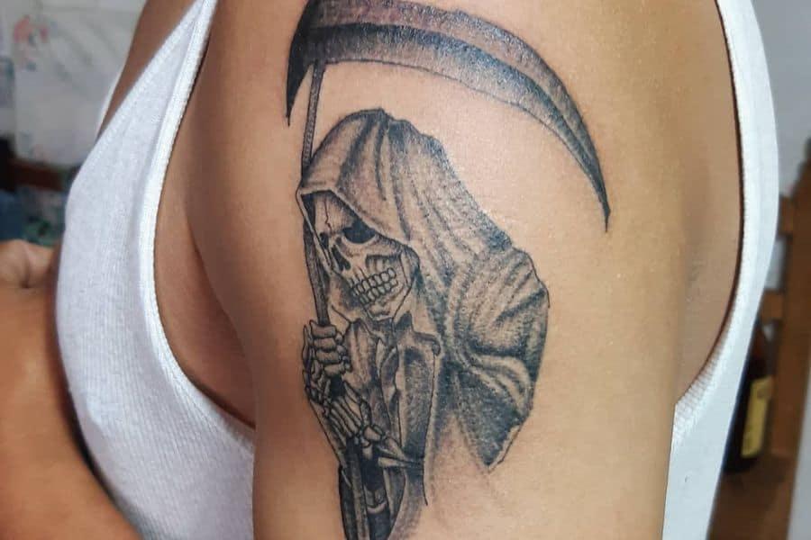 Top 61 Santa Muerte Tattoo Ideas – [2021 Inspiration Guide]