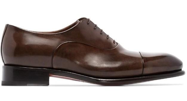 Santoni Classic Schnür-Oxford-Schuhe