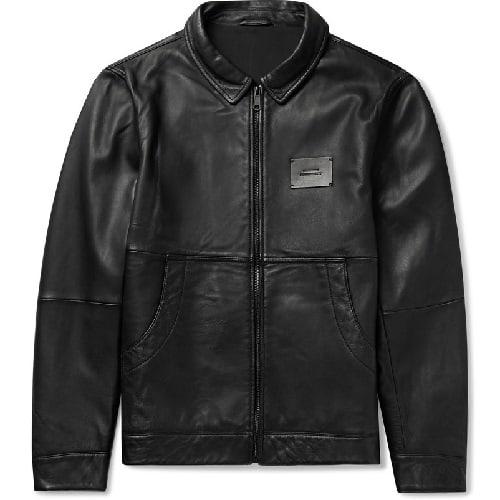 Saturdays-NYC-Leather-Harrington-Jacket