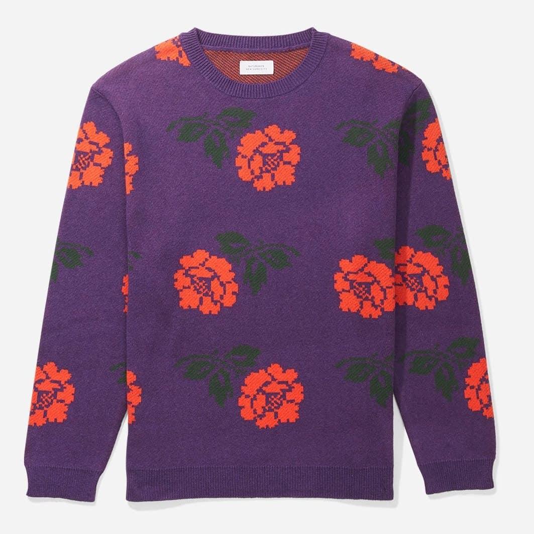 Saturdays New York City Wade Rose Sweater