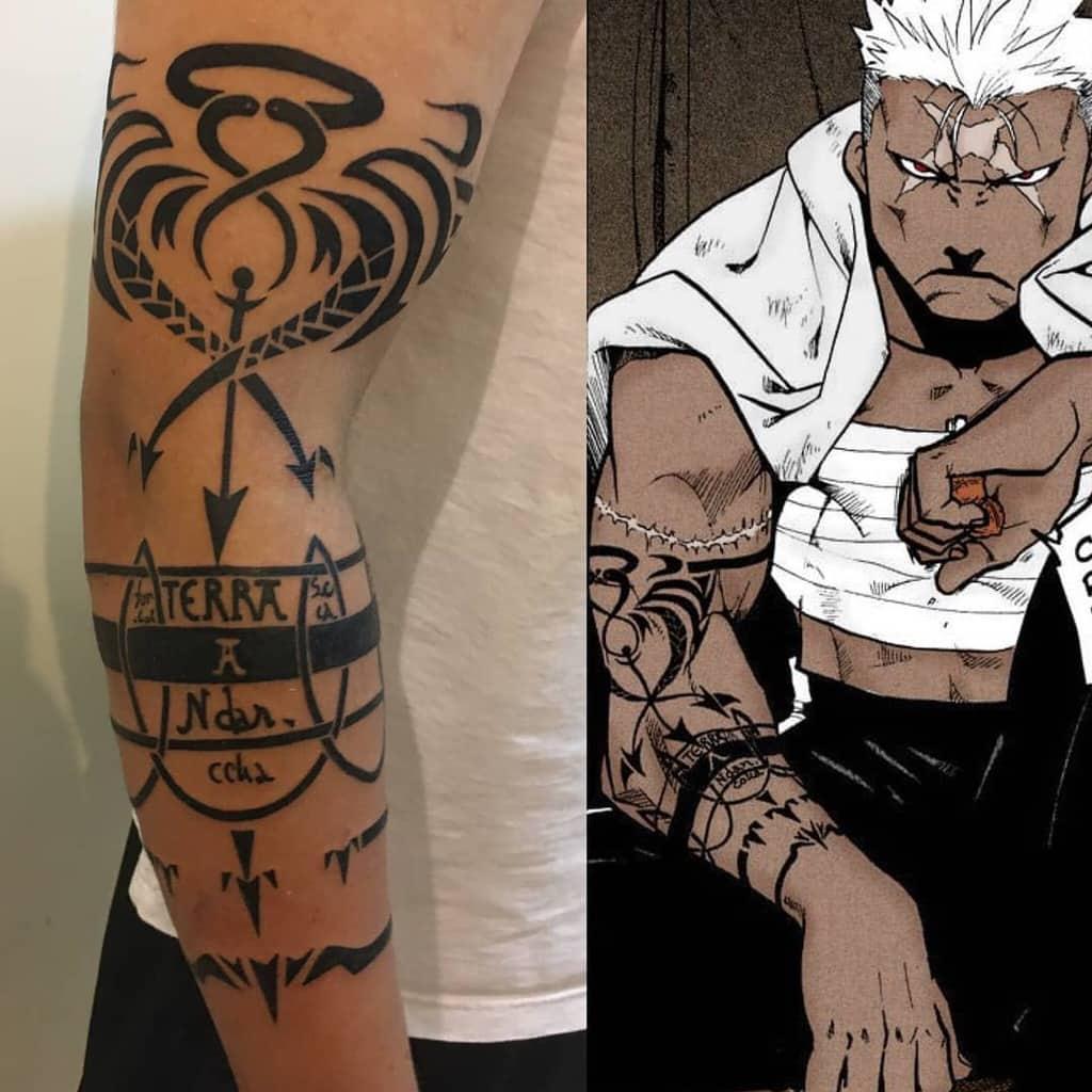 Scar Full Metal Alchemist Ink Lab Tattoo Siemreap