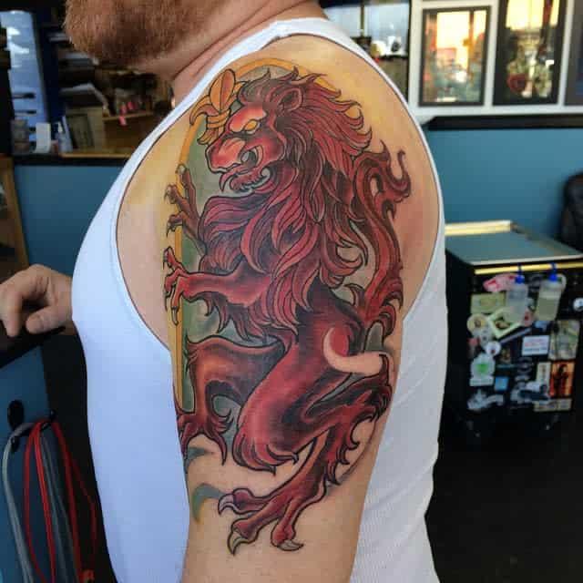 Scottish Lion Tattoo Andi The Pants