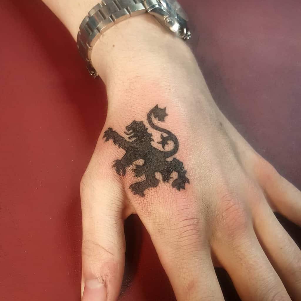 Scottish Lion Tattoo Katscratchkatie