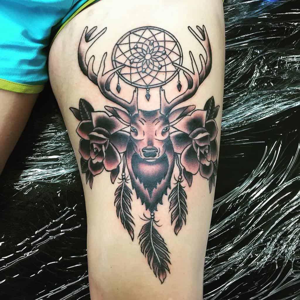 Scottish Stag Tattoo Brentreidy21