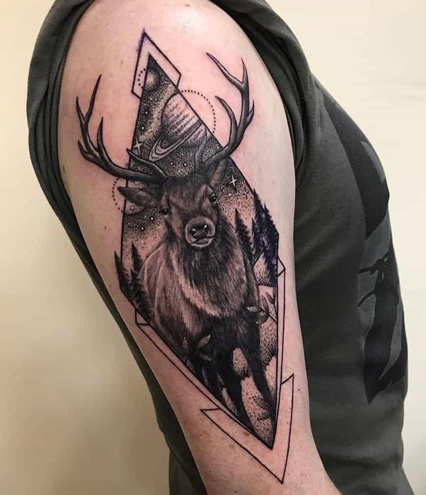 Scottish Stag Tattoo Fleurdelistattoos