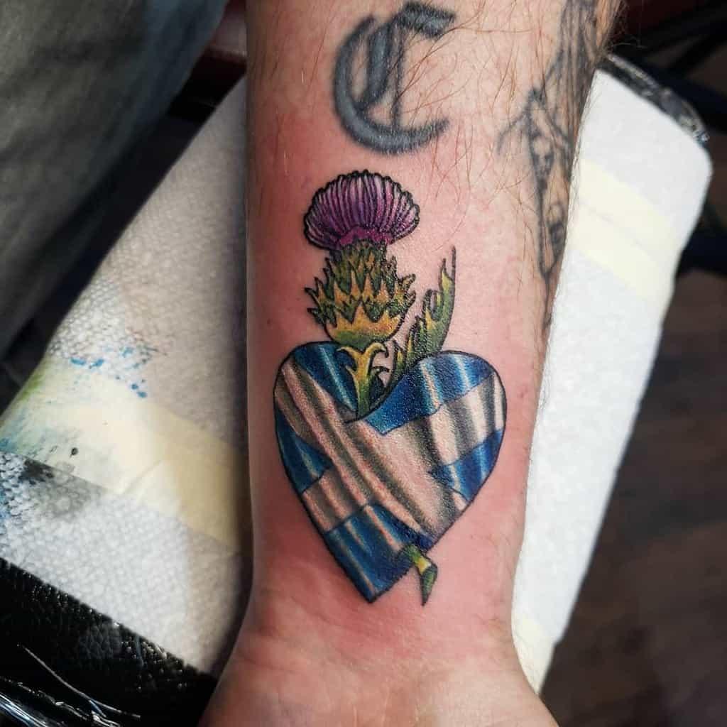 Scottish Thistle Tattoo Jmeover9000