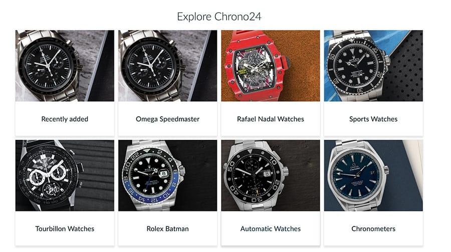 Chrono24 Luxury Watch Marketplace Seller