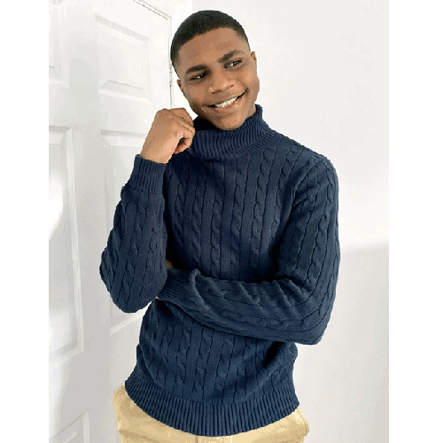 Selected-Homme-Cable-Roll-Neck