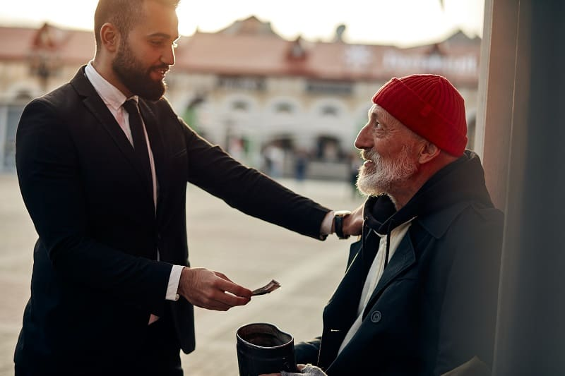 Serve others with act of kindness - Lifestyle Habits Every Man Should Follow
