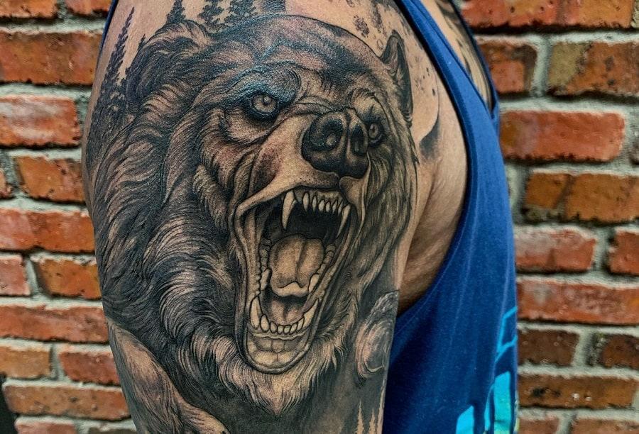 Top 47+ Best Black Bear Tattoo Ideas – [2021 Inspiration Guide]