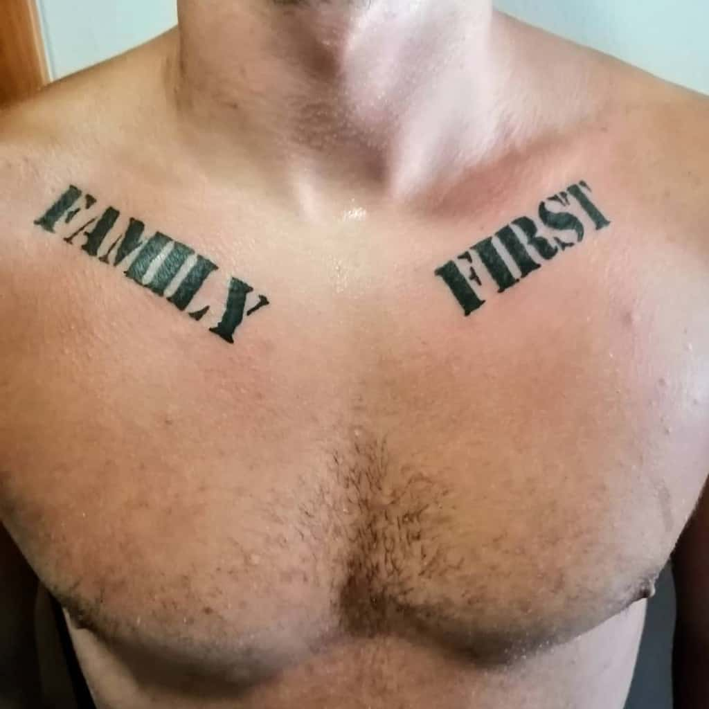 Simple Meaning Tattoo for Men veles_tattons