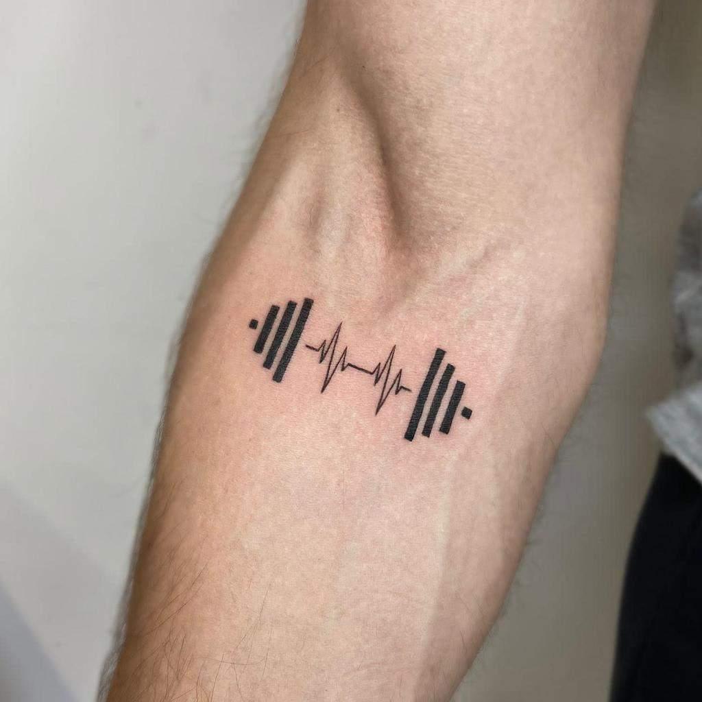 Simple Meaning Tattoo for Men yleniaattard