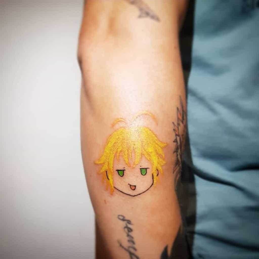 Simple Meliodas Tattoo Meliodas Tattoo Petunia Tattoo