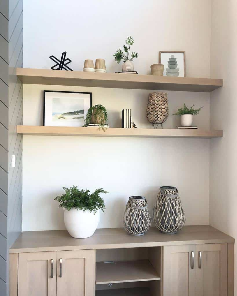 Simple Shelving Ideas simplystyled_interiors