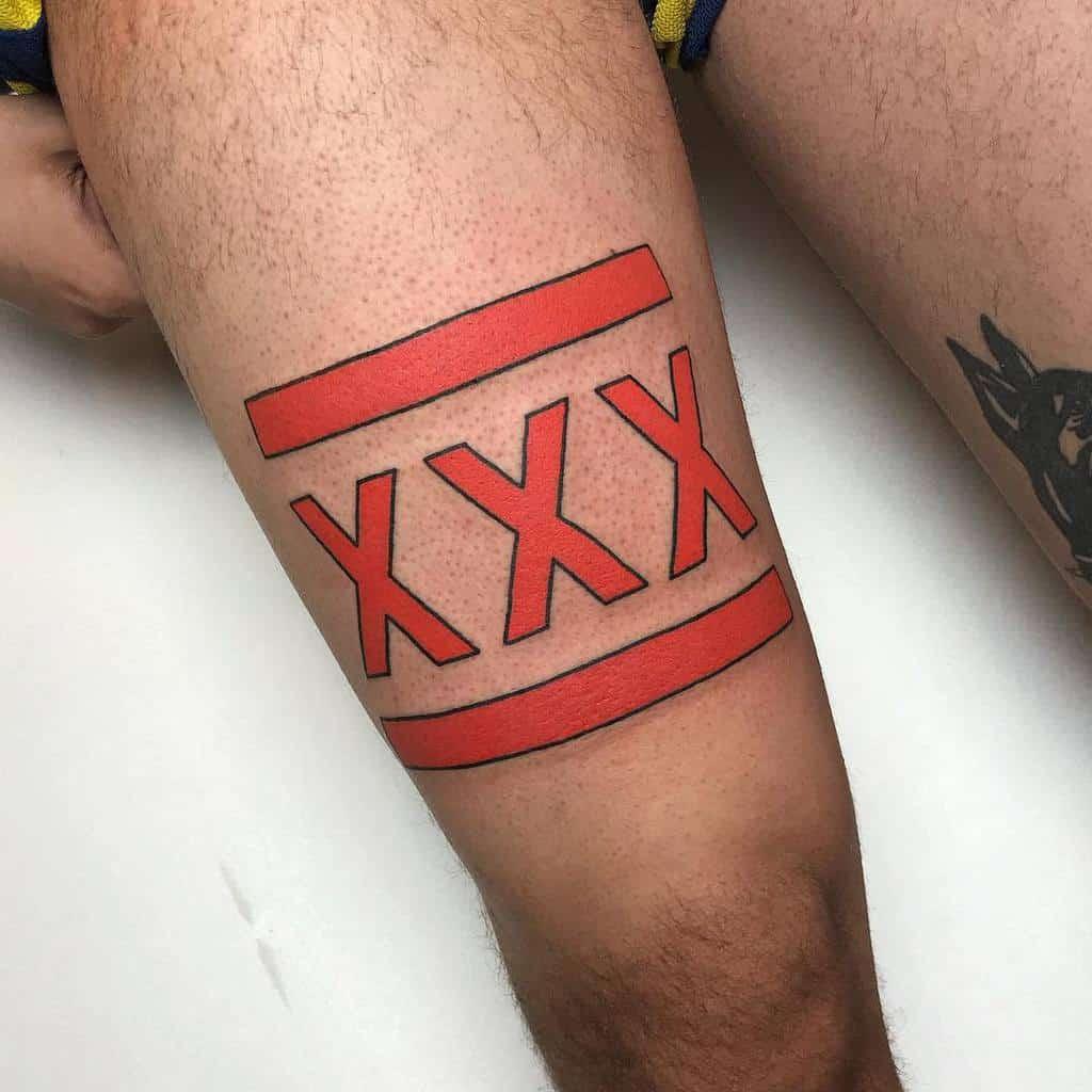 Simple Straight Edge Tattoo Bettymyerstattoo