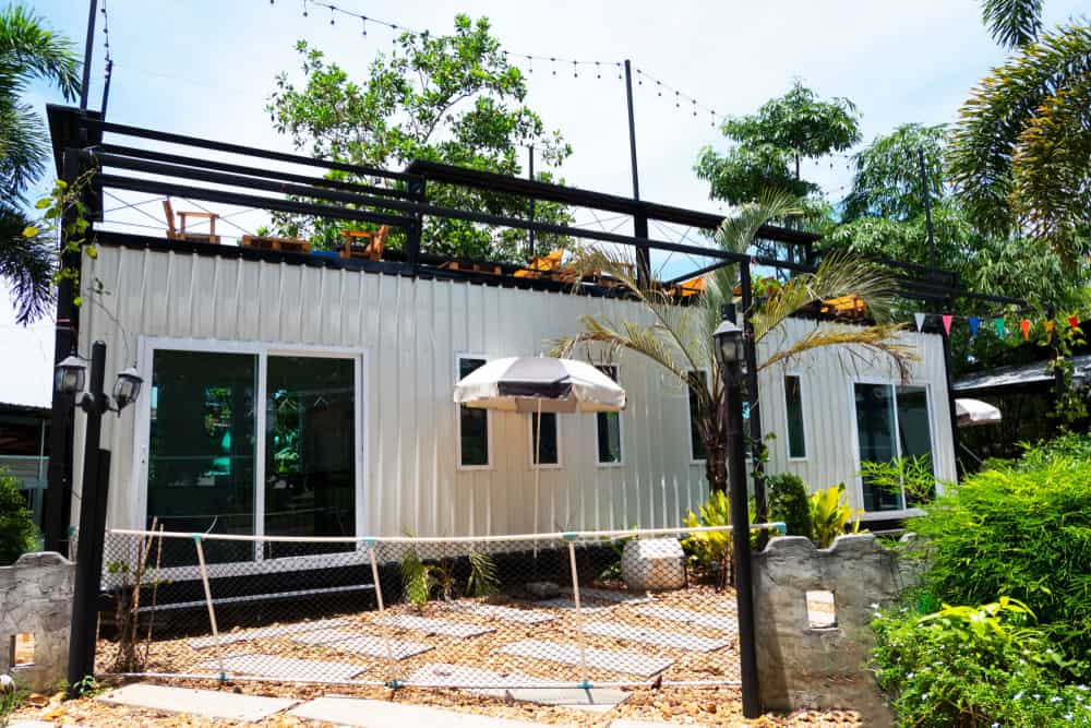 Single Shipping Container Home