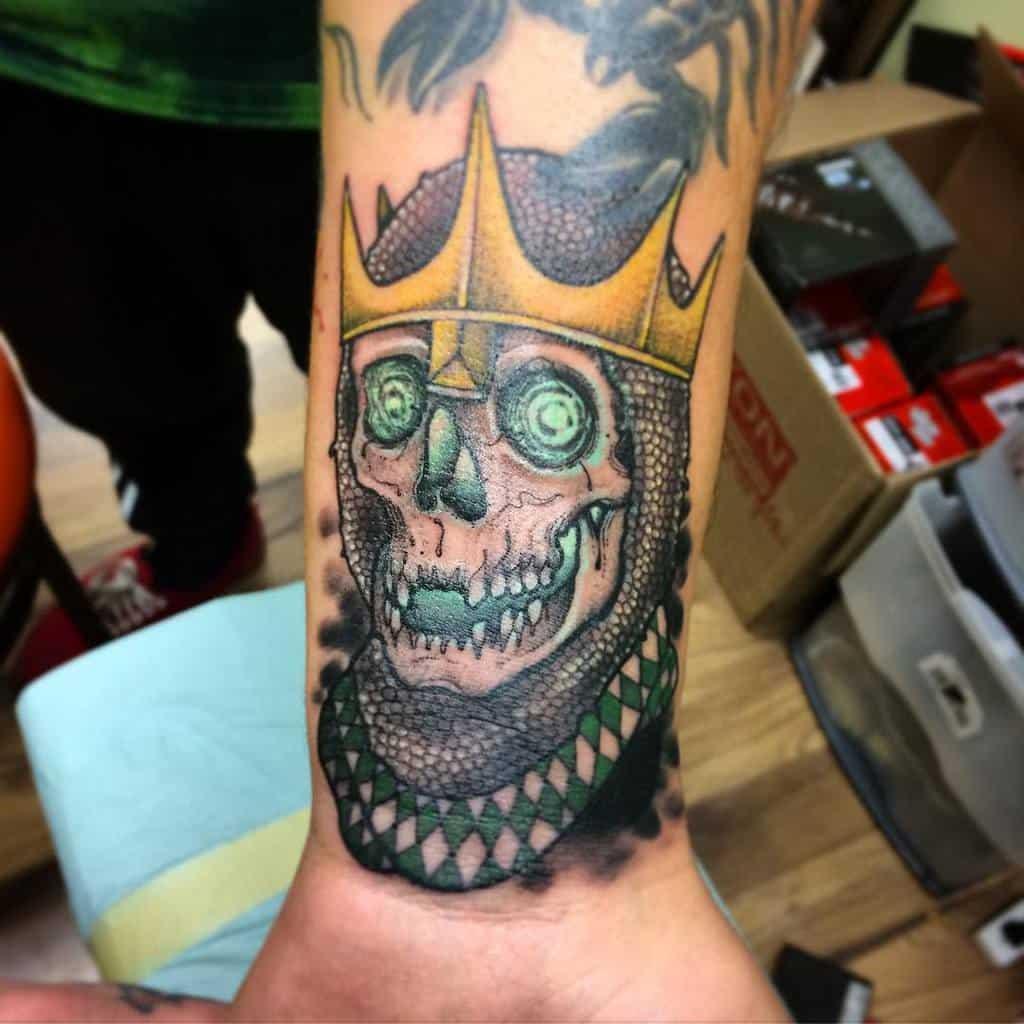 Skeleton Dungeons And Dragons Tattoos Mattcullart