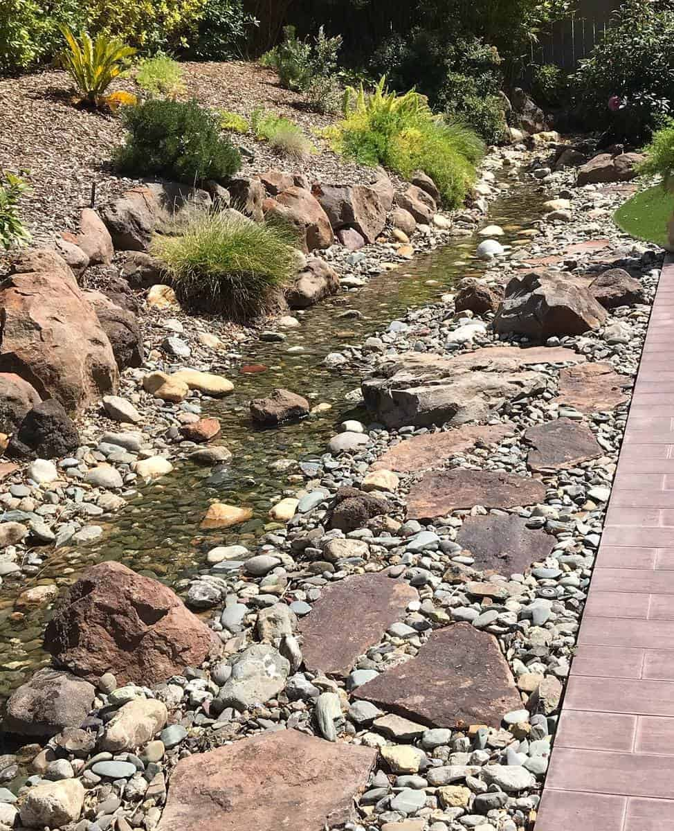 Slope Garden Grass Free Yard Ideas -beckisemb