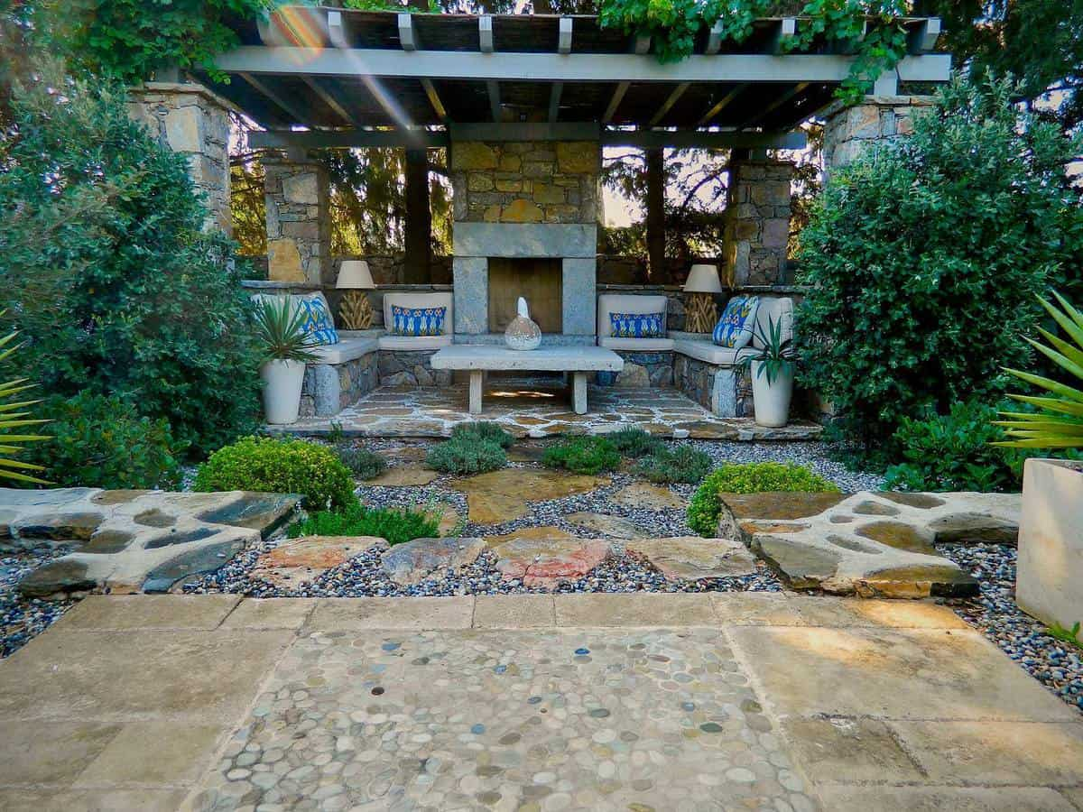 Small Backyard Grass Free Yard Ideas -sel8154
