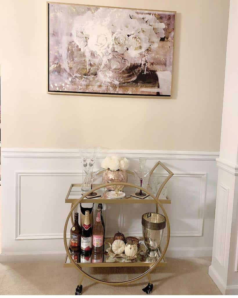 Small Bar Cart Ideas -designsbyashmara