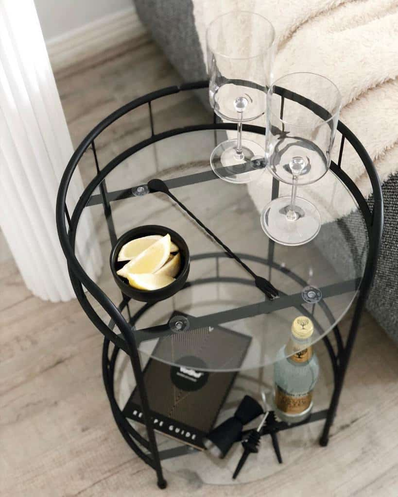 Small Bar Cart Ideas -klauddesign_