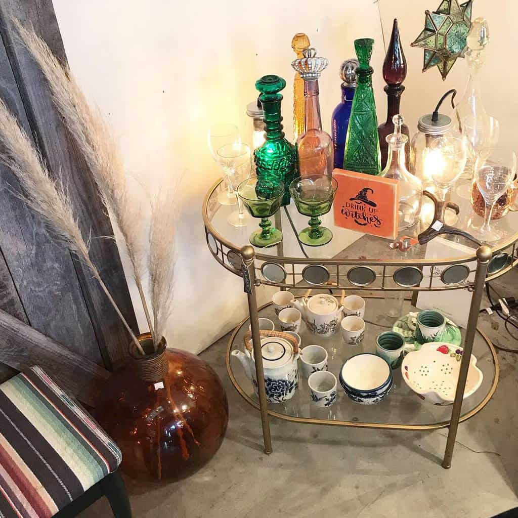 Small Bar Cart Ideas -lootvintageshop