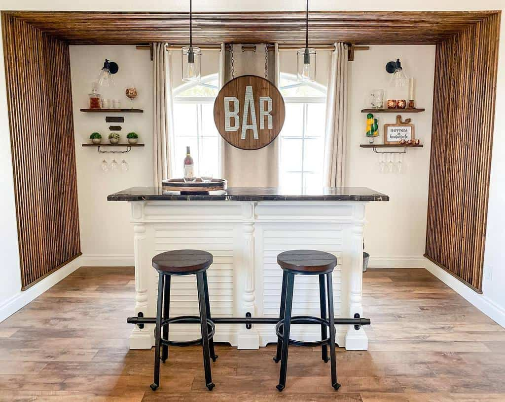 Small Basement Bar Ideas jessiethomasdesigns