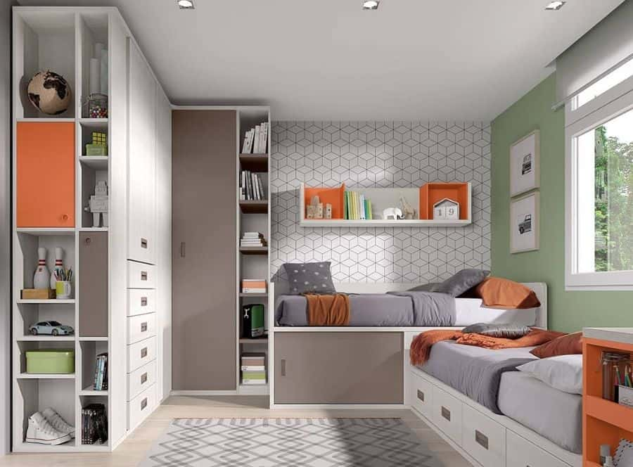 Small Bedroom Storage Ideas Eurostyle Design