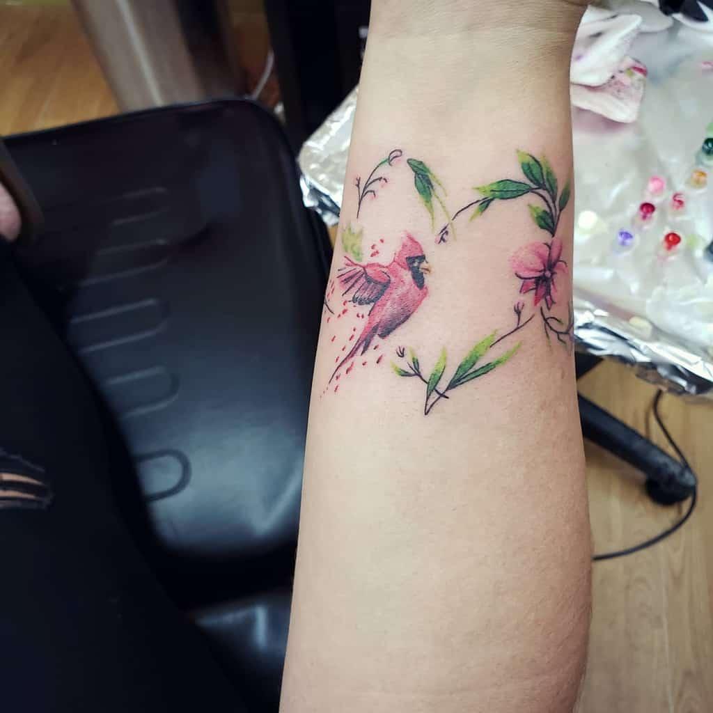 Small Bird Wrist Tattoos Lost.hourstattoo