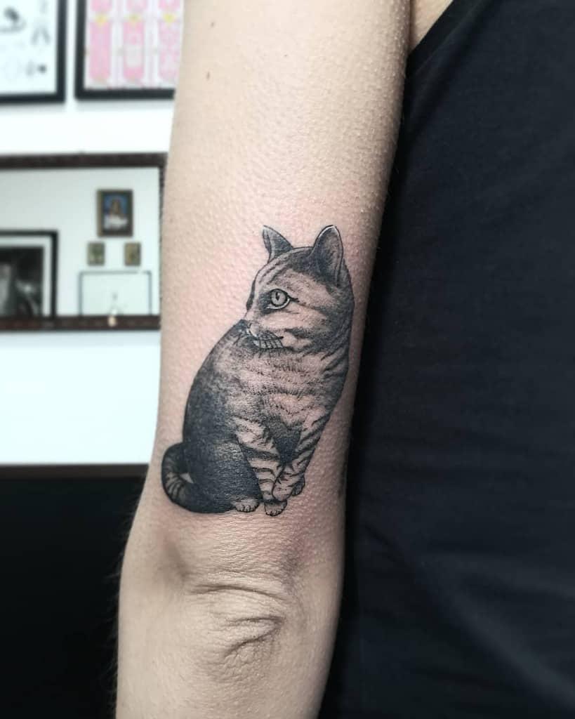 Small Black Cat Tattoos lady_elle_wonderland