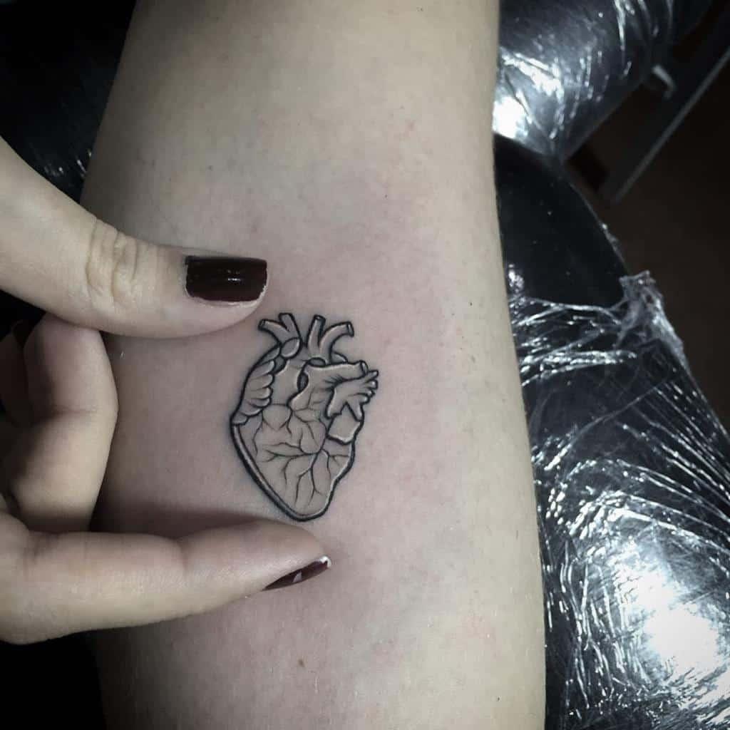 Small Black Heart Tattoos Riotinktattooparlourvzla