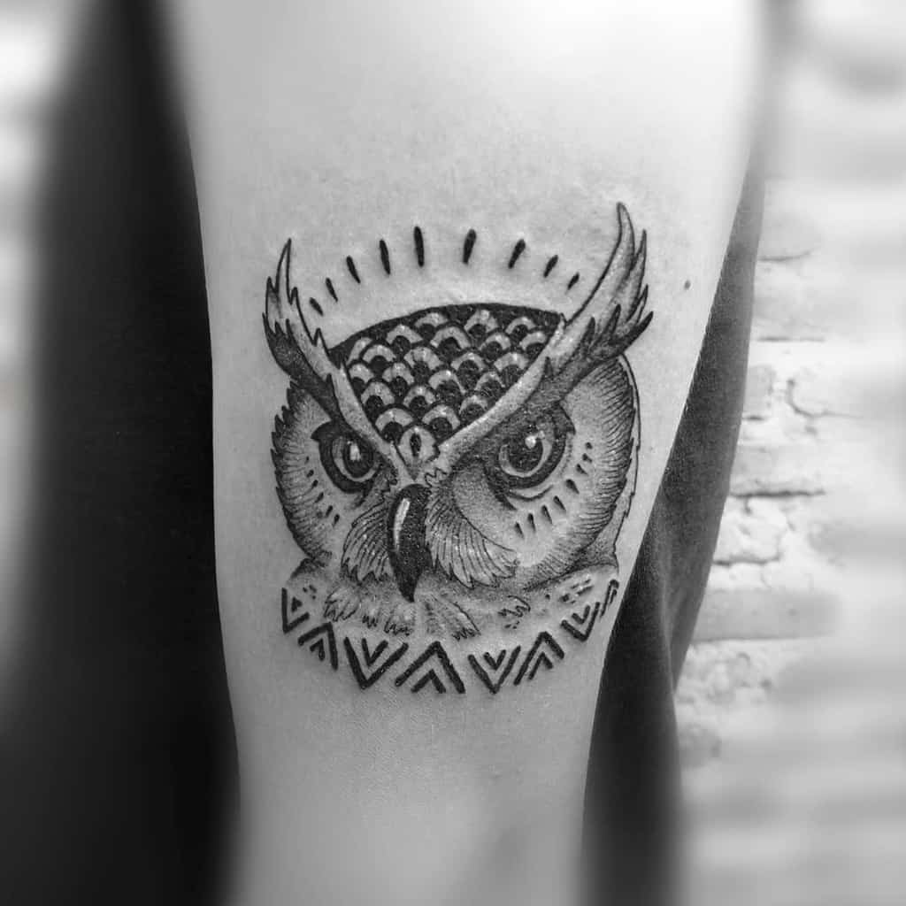 Top 51 Best Small Owl Tattoo Ideas 2020 Inspiration Guide