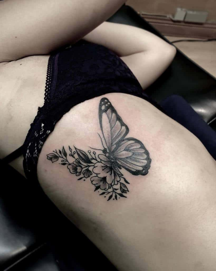 Top 65 Best Small Butterfly Tattoo Ideas - [2020