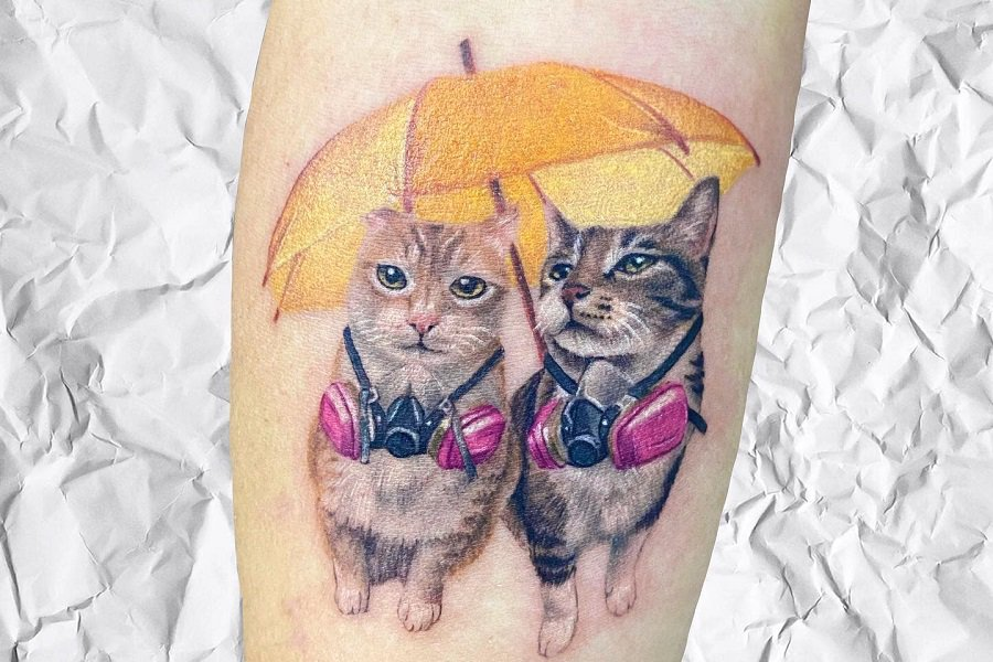 Top 70+ Best Small Cat Tattoo Ideas – [2021 Inspiration Guide]