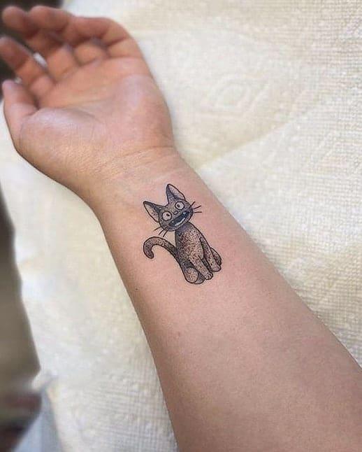 Small Cat Wrist Tattoos tattoosbystrangers