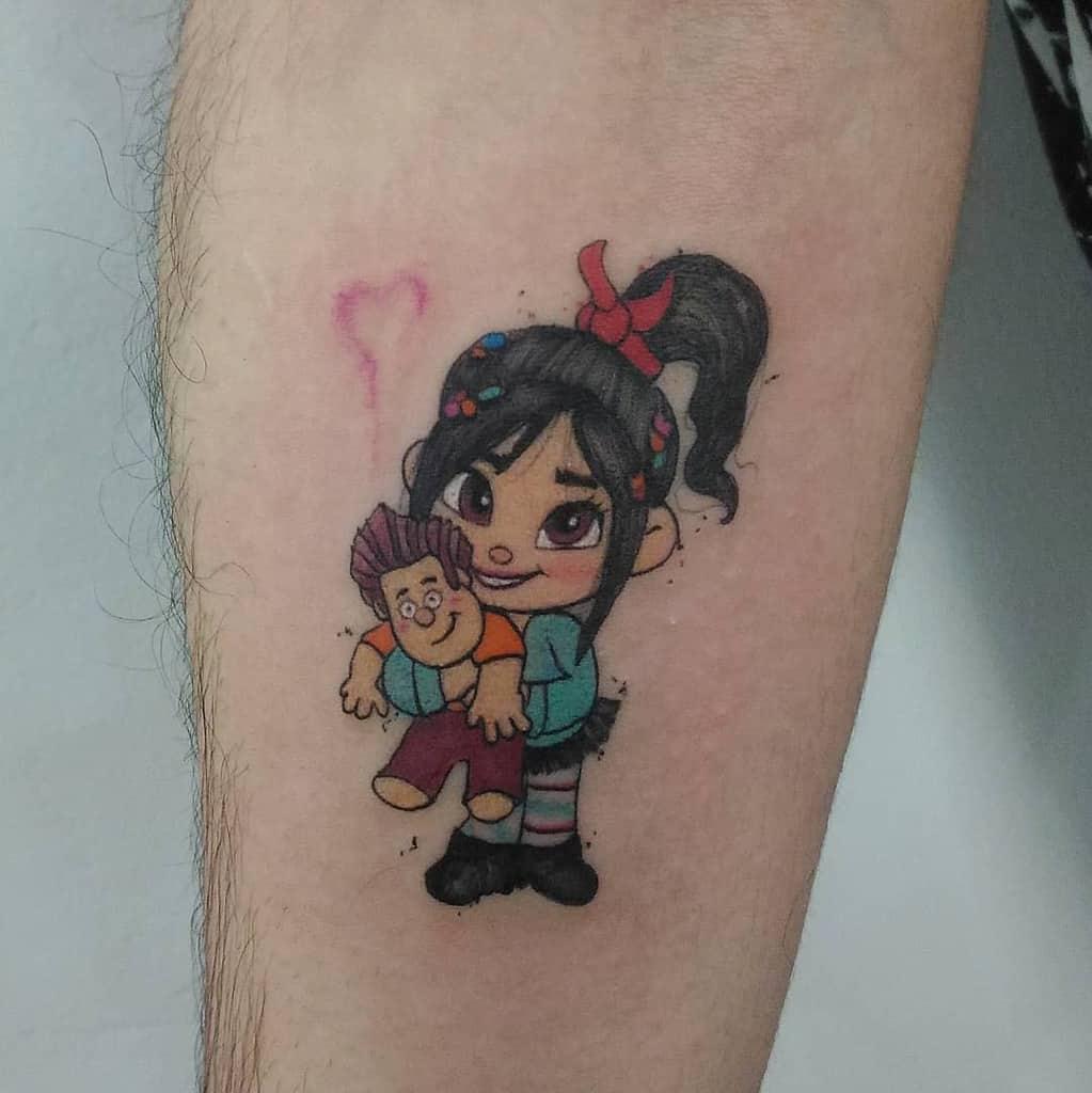 Small Cute Disney Tattoos amd.tattoo