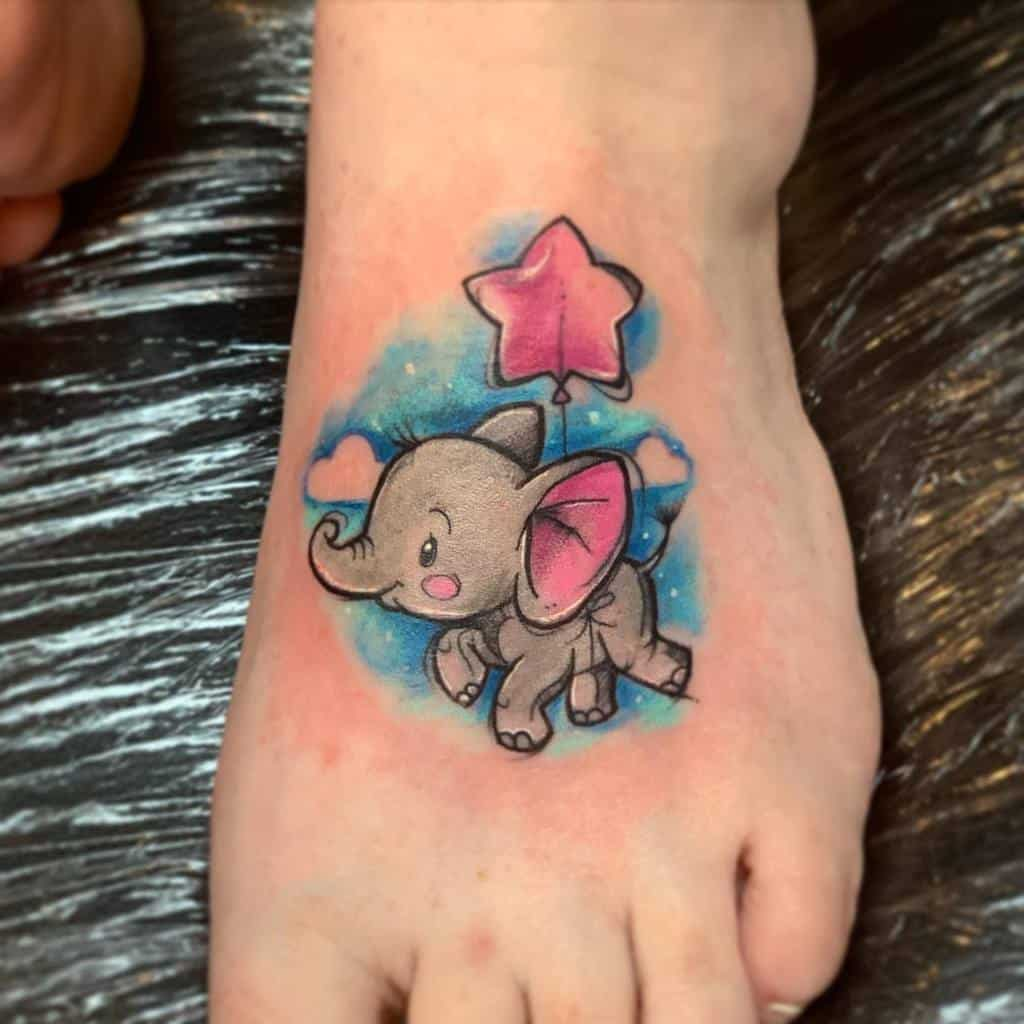 Small Cute Disney Tattoos bluamaranth
