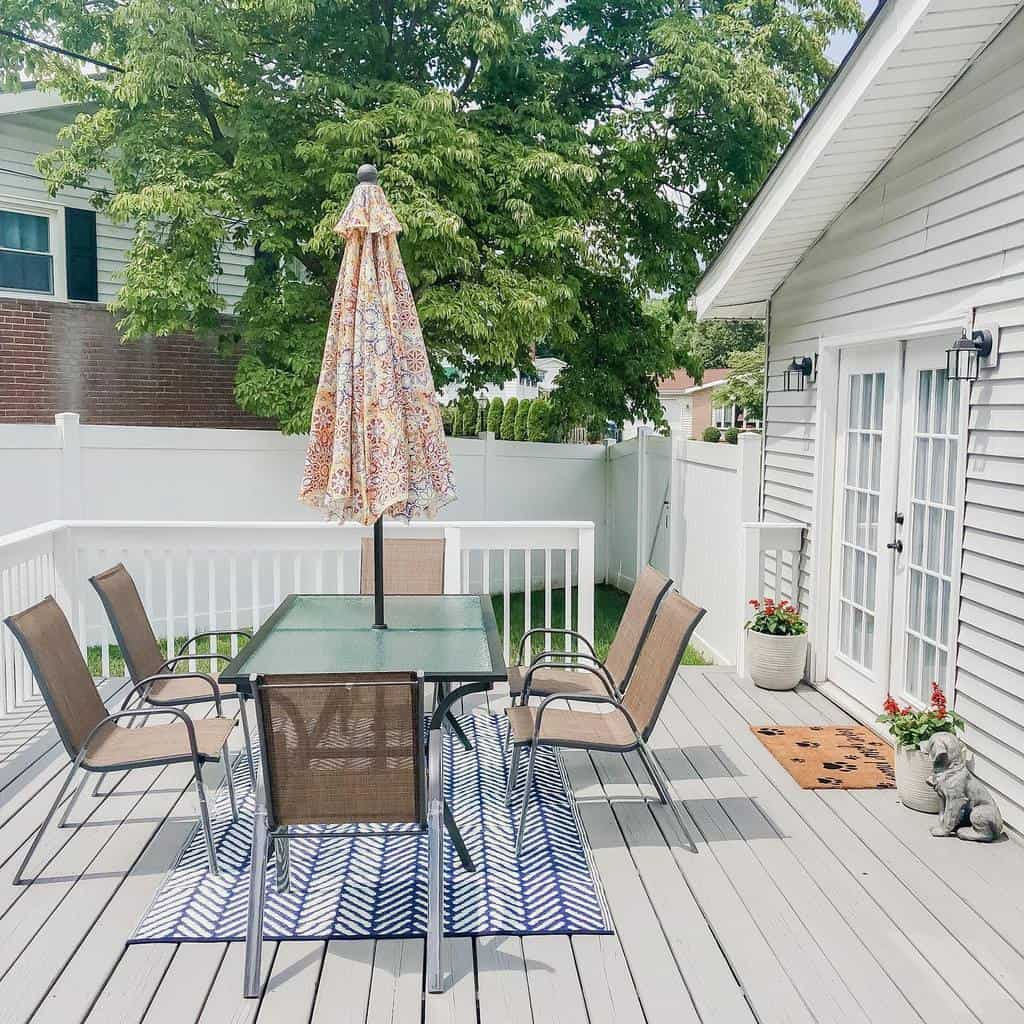 Small Deck Decorating Ideas -mila_and_home