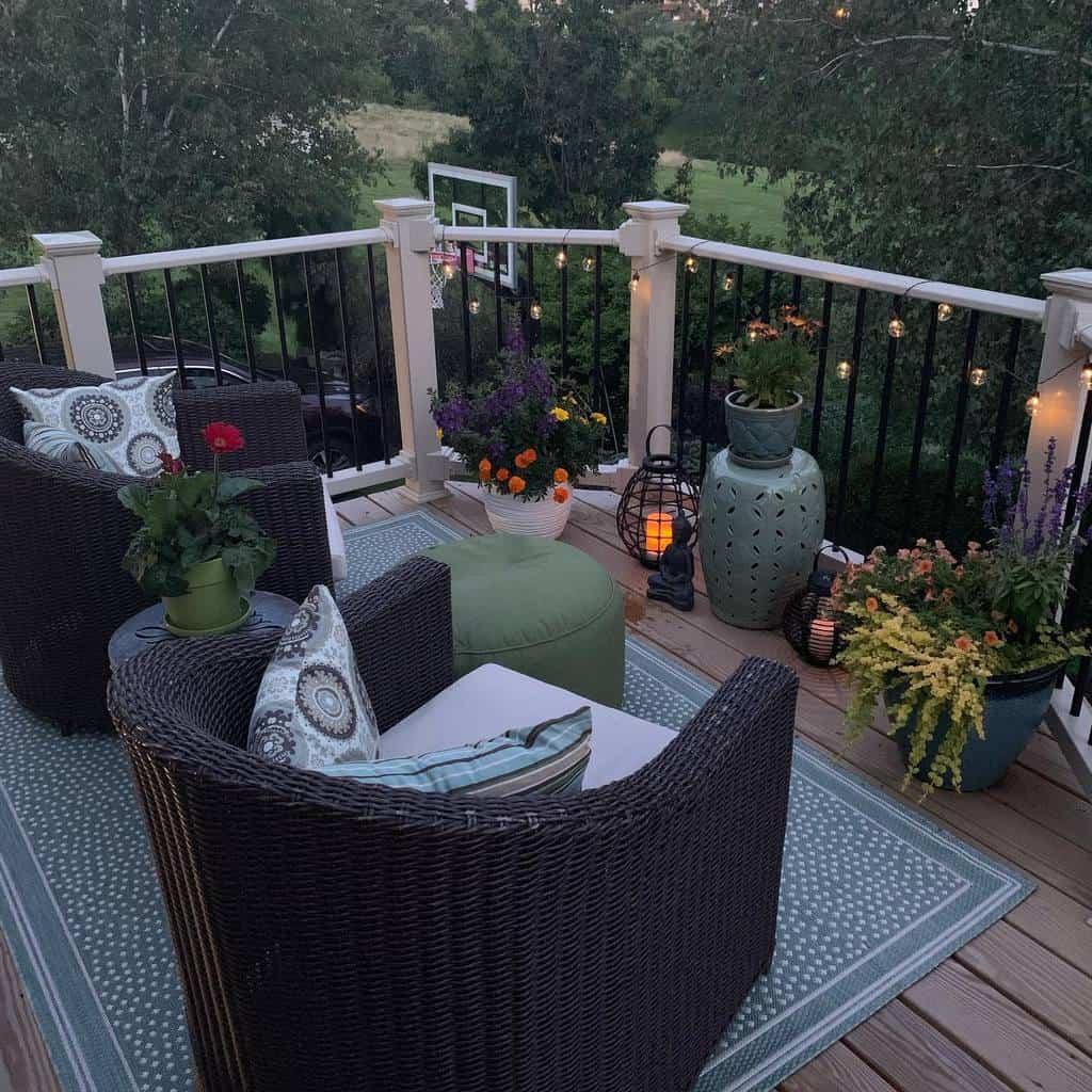 Small Deck Decorating Ideas -simpleinspirationsathome