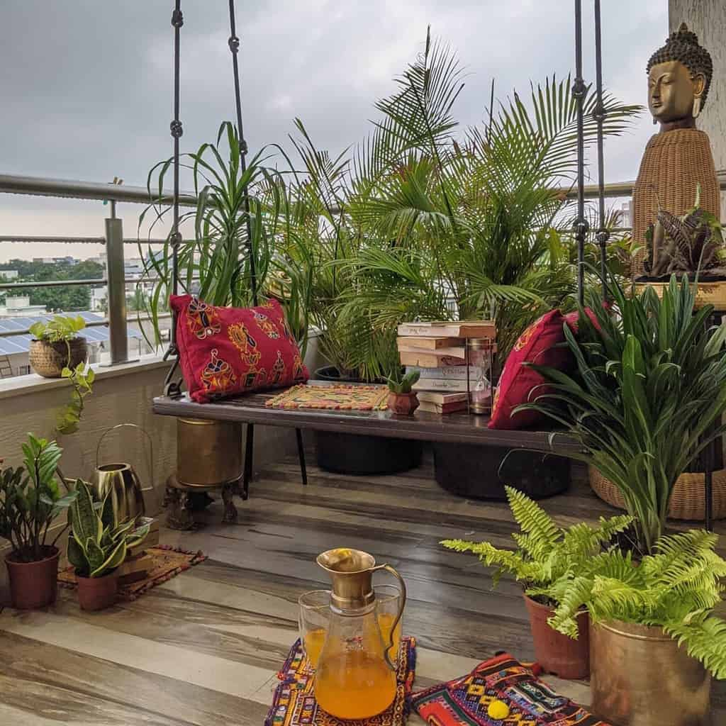 Small Deck Decorating Ideas -upliftingdepictions