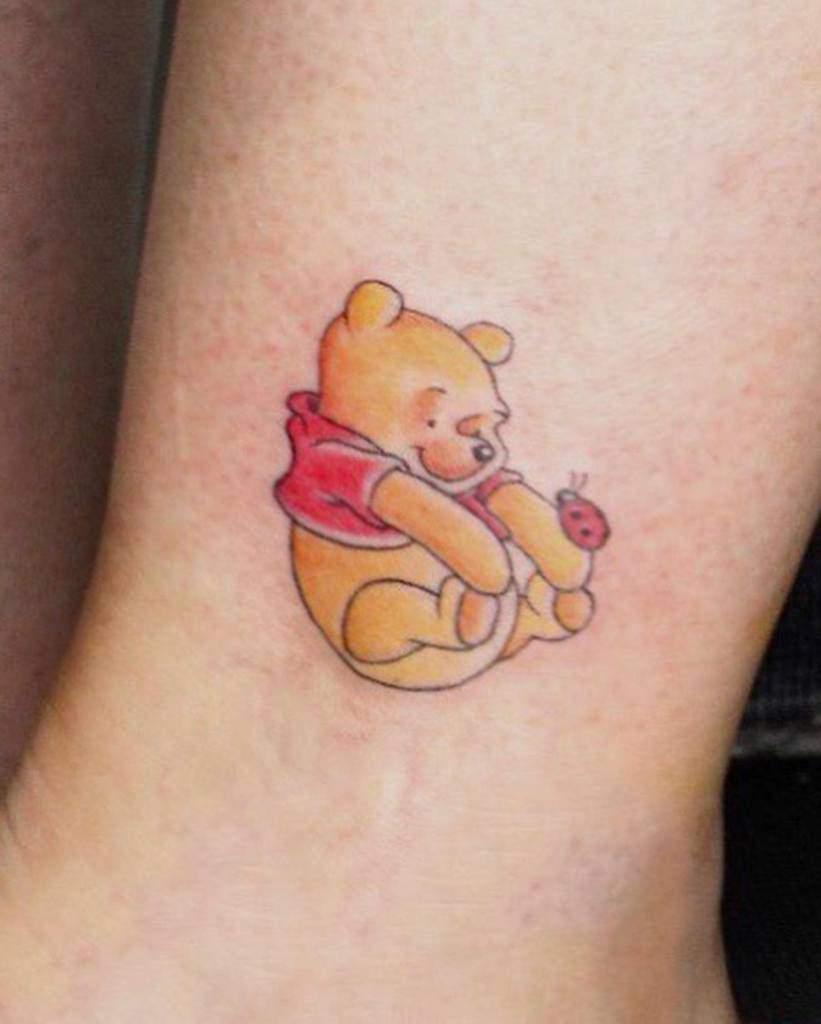 Small Disney Ankle Tattoos notoriousapiryahel