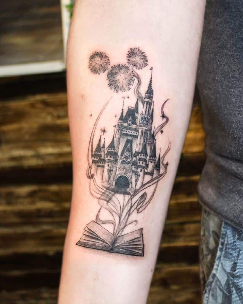 Small Disney Castle Tattoos s.kleine.90