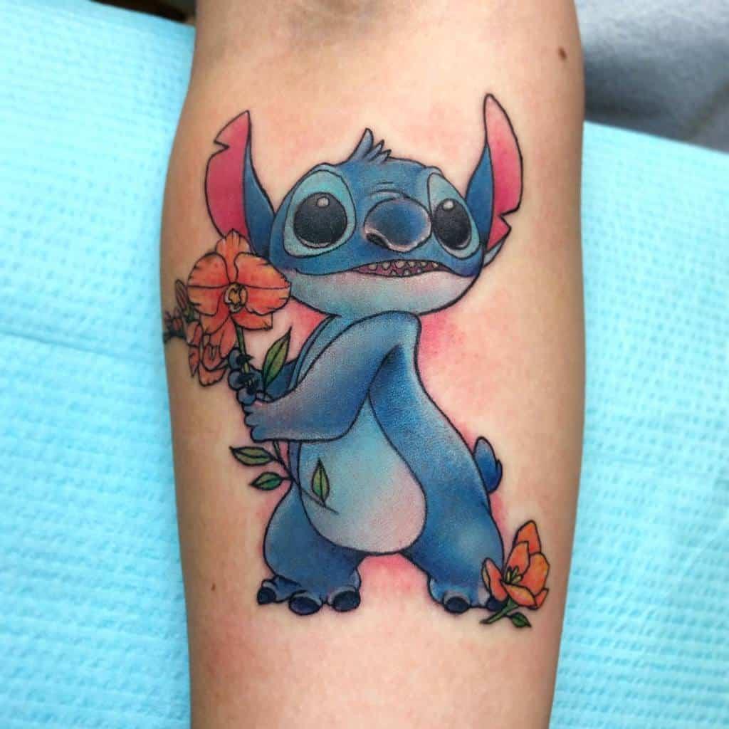 Small Disney Forearm Tattoos paintedturtletattoos