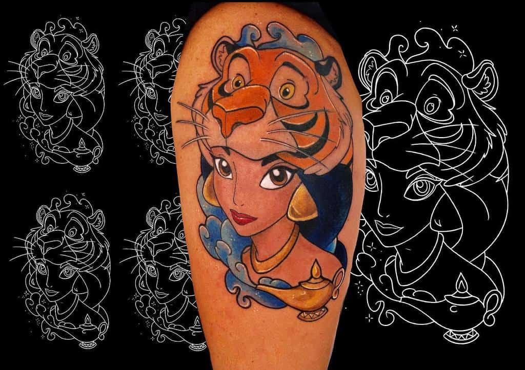 Small Disney Princess Tattoos navyinktattoo