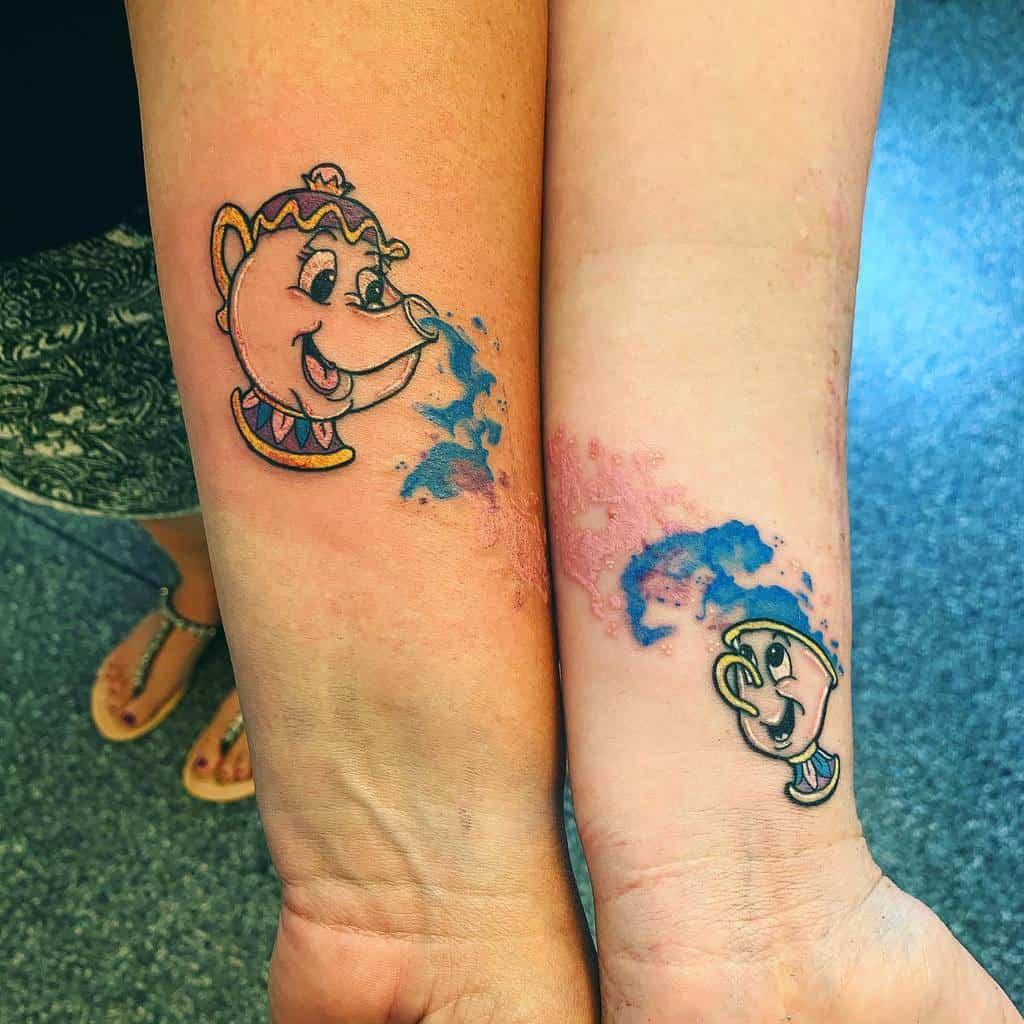 Small Disney Wrist Tattoos dannietattoos