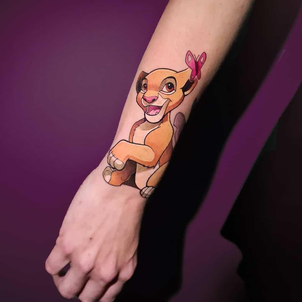 Small Disney Wrist Tattoos panko.tattoo