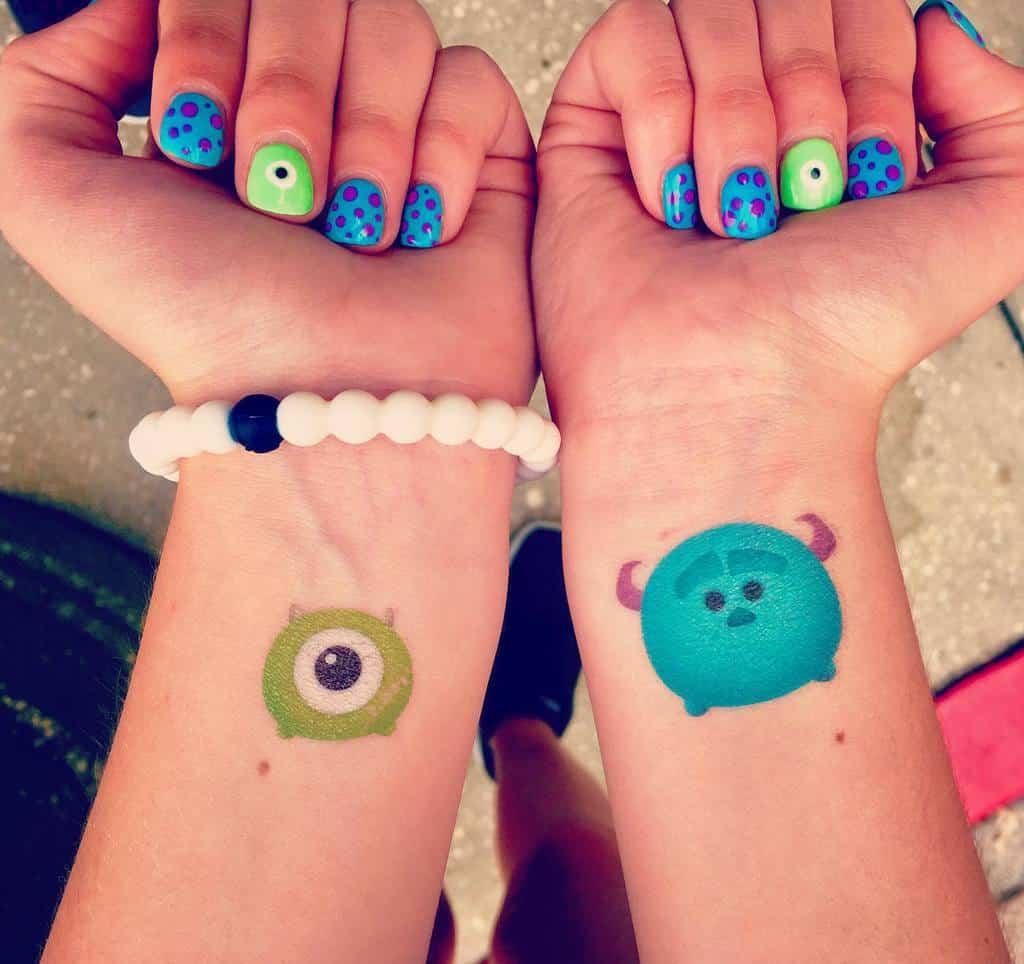 Small Disney Wrist Tattoos whackyworldd