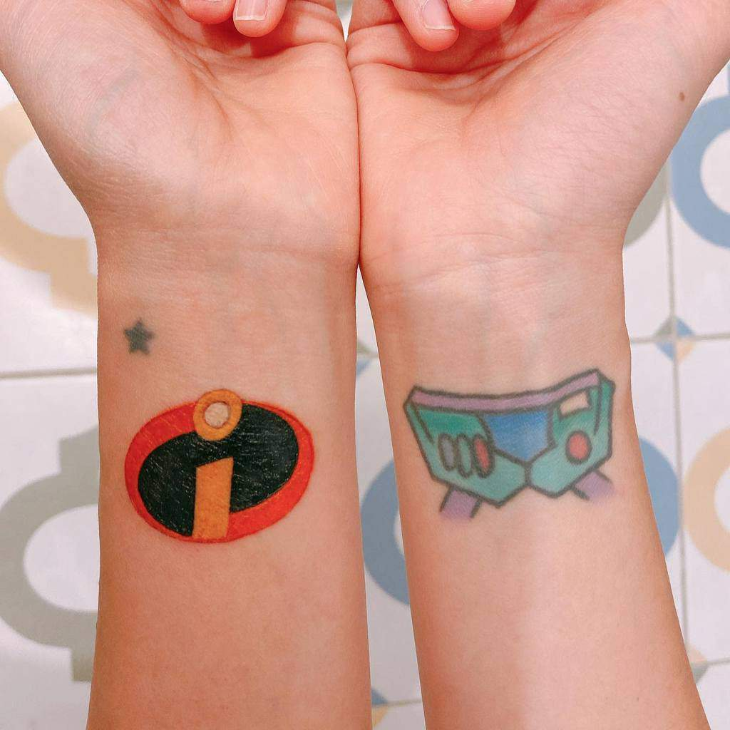 Small Disney Wrist Tattoos yvee_so