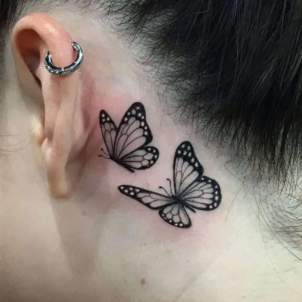 Small Ear Tattoo For Women Melbootstattoo