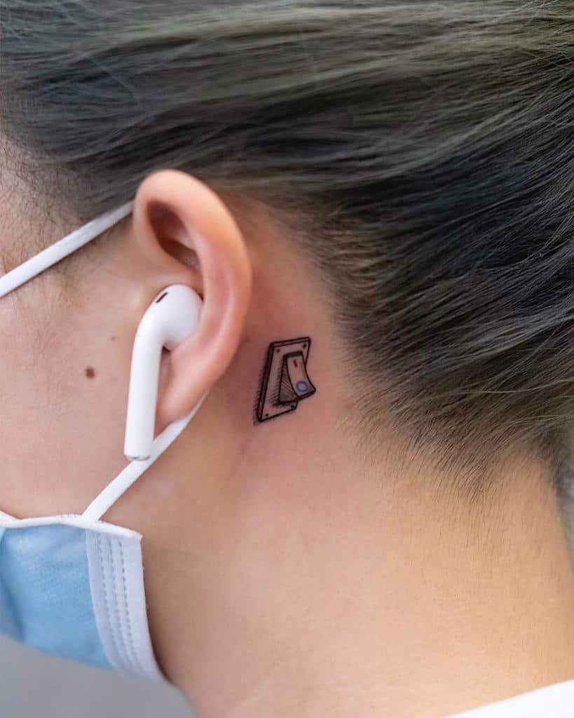 Small Ear Tattoo For Women Newtattoo Sarah
